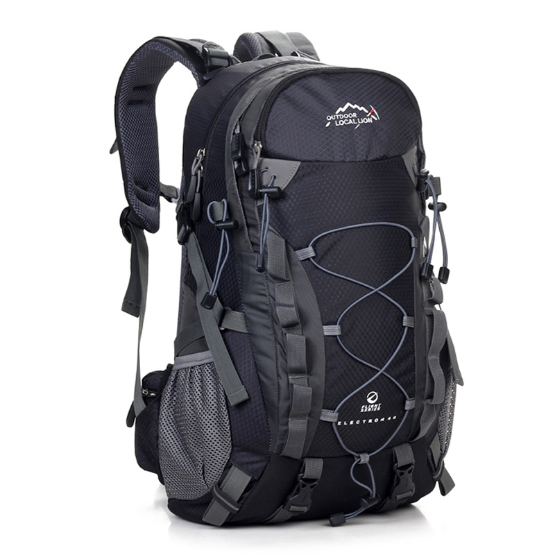 2018 Travel Backpack Waterproof Large Capacity Breathable Nylon Outdoor Mountaineering Bag Diamond Shaped Folding Backpack Camping & Hiking
