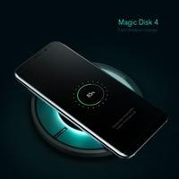 Nillkin Original Fast Wireless Charger Qi Charging Pad For Samsung Galaxy S8 S7 Edge S6 Qi
