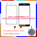"Good Work 5.5"" For Huawei Ascend G7 New Touch Screen Digitizer Touch Sensor Glass Pancel Black White Tracking NO Free Shipping"