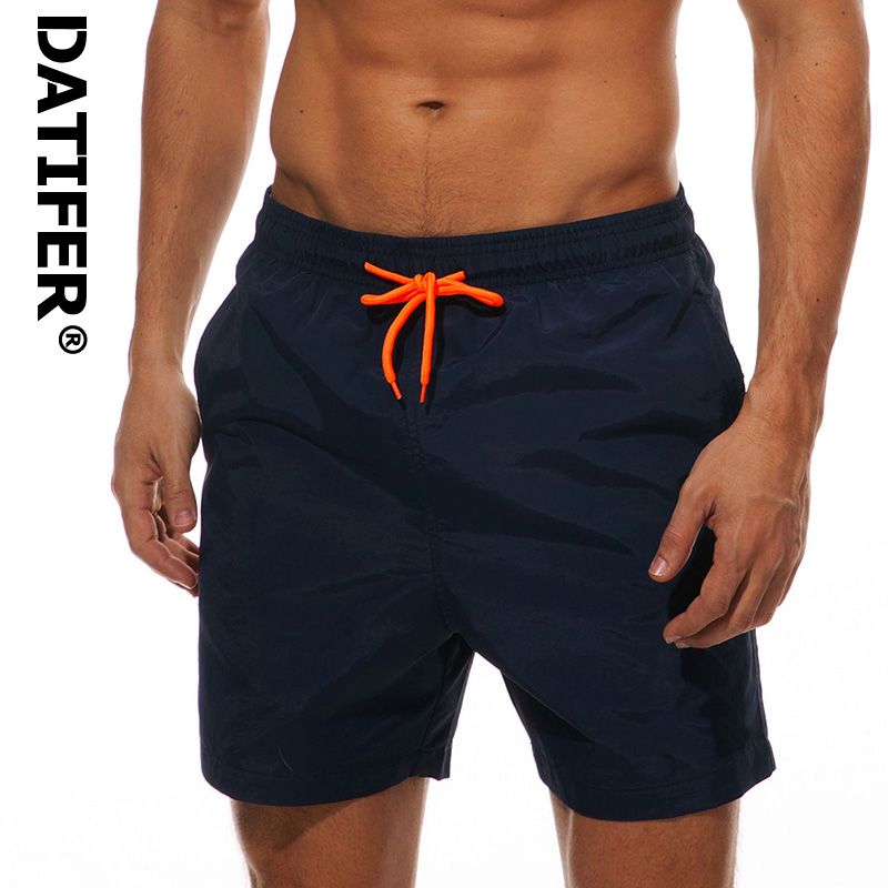 grand choix de 6ad23 f840f DATIFER Men's Beach Short Swim Shorts Surfing Maillot De Bain Sport Men's  Board Shorts Bermuda Swimwear