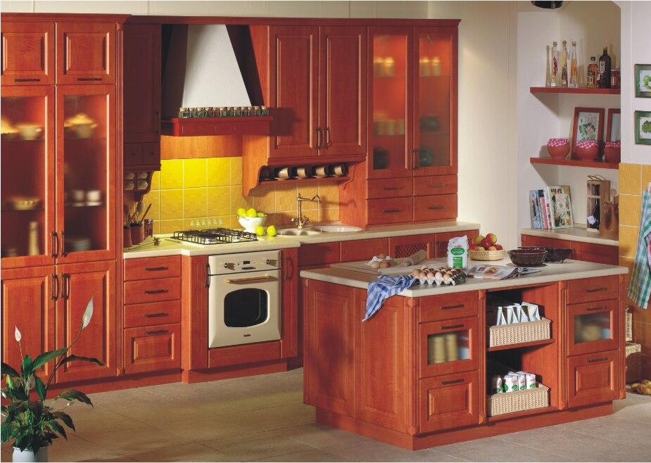 armario de la cocina muebles de cocina de madera maciza muebles de cocina modulares muebles