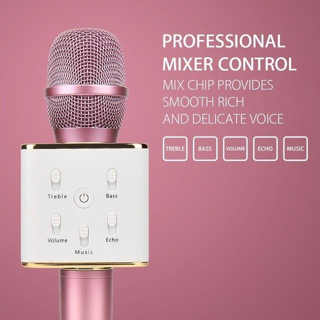 Moda venda quente k canção artefato k088 mini portátil sem fio bluetooth speaker microphone ktv cantando máquina ao ar livre