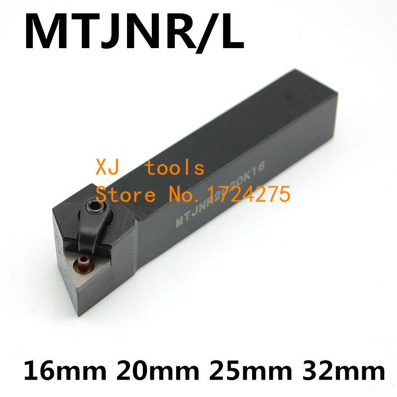 1PCS MTJNR1616H16 MTJNR2020K16 MTJNR2525M16 MTJNR2525M22 MTJNR3232P16 MTJNR3232P22 MTJNL CNC Lathe Cutting External Turning Tool