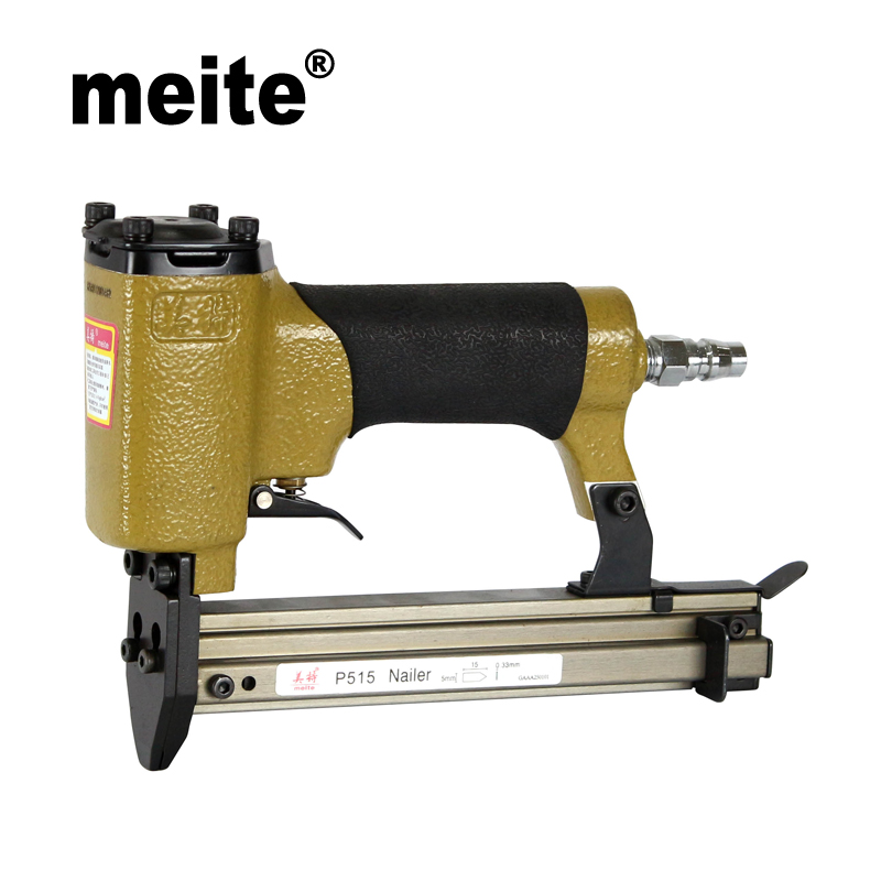 цена на MEITE P515 pneumatic picture frame tools tacker gun air picture frame nail gun pinner Sep.3rd Update tool