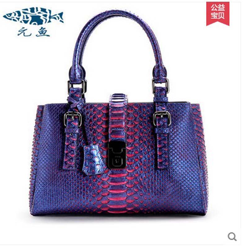 yuanyu 2018 new hot free shipping female real python leather women handbag real leather handbag fashion snake skin women bag yuanyu real snake skin women bag new decorative pattern women chain bag fashion inclined single shoulder women bag
