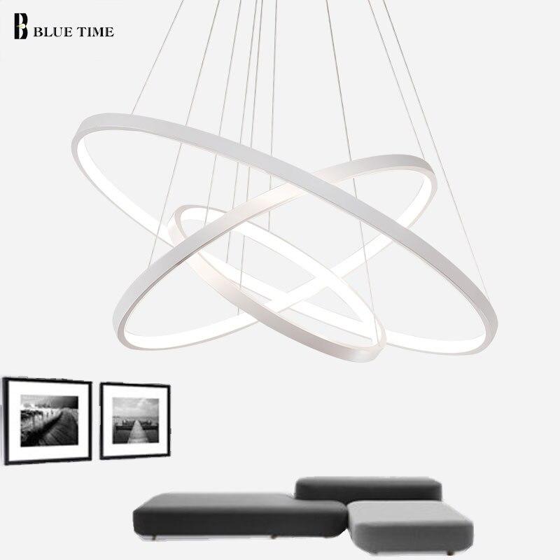 Dritat LED me 3 unaza rrethi LED Dritat e thjeshta varëse për - Ndriçimit të brendshëm - Foto 4