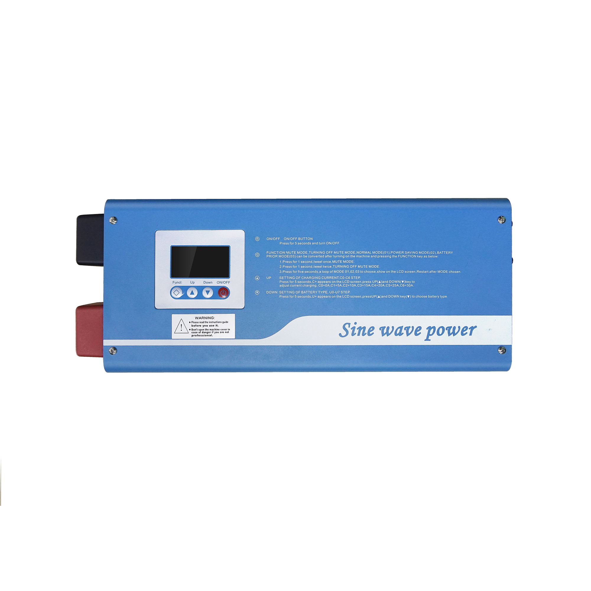 Tumo Int 1000W Digital Intelligent Pure Sine Wave Inverter Charger