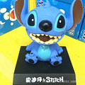 Hot Lilo & Stitch Action Figure Toys 12cm Stitch Figma Super Lovely Car Head Shaking PVC Model Collection Dolls Brithday Gifts