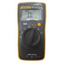 Оригинал FLUKE F101 Основной Цифровой Мультиметр F101 Карманный авто диапазон цифровой мультиметр