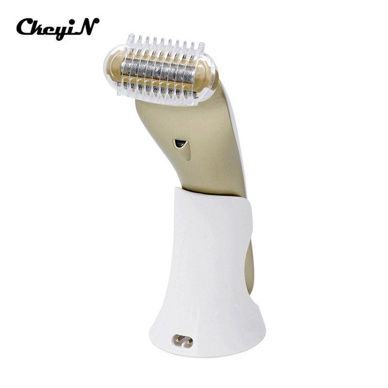 CkeyiN Electric Waterproof Female Epilator Shaver Razor Hair Removal Shaving Face Body Armpit Underarm Leg Depilador Depilation ckeyin 2in1 wet dry epilator women shaver depiladora mini hair removal electric nose ear trimmer bikini underarm painless shaver
