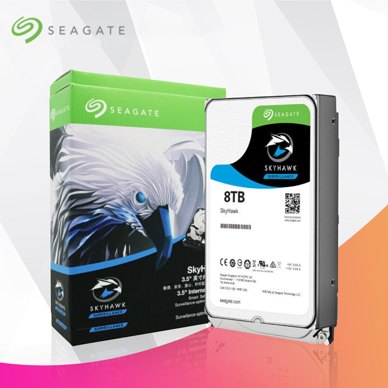 Seagate 10TB Video Internal Hard Disk Drive 7200RPM SATA 6Gb/s 3.5inch 256MB Cache HDD For Security ST10000VX0004 накопитель на жестком магнитном диске seagate жесткий диск hdd 10tb seagate ironwolf pro st10000ne0004 3 5 sata 6gb s 256mb 7200rpm
