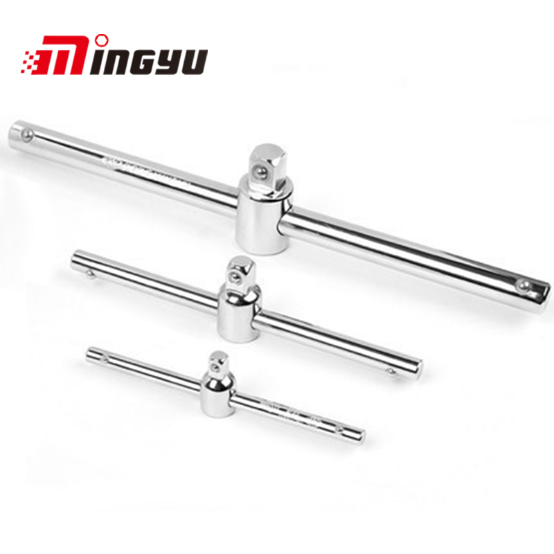 Dedicated 1pcs 3/8-160mm Sliding T Bar Handle For Socket Connection Hand Tools Tools