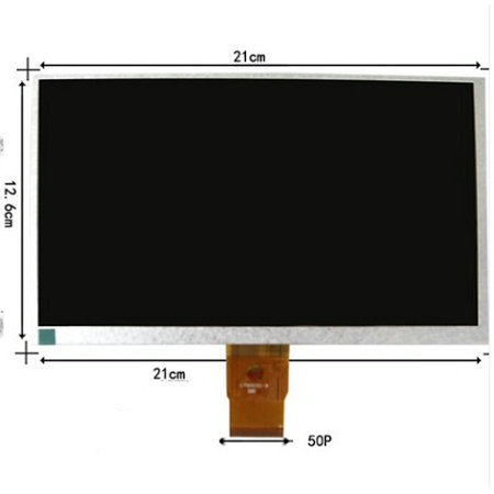 LCD Display 9 IVIEW CyberPad IVIEW - 900TPCII Iview-900TPCII Tablet LCD Screen panel Matrix Digital Replacement FreeShipping