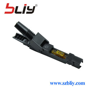 Image 5 - Bliy 100pcs embedded FTTH Fiber Optic quick Connector FTTH Tool Cold Fiber Fast Connector for multi mode and single mode