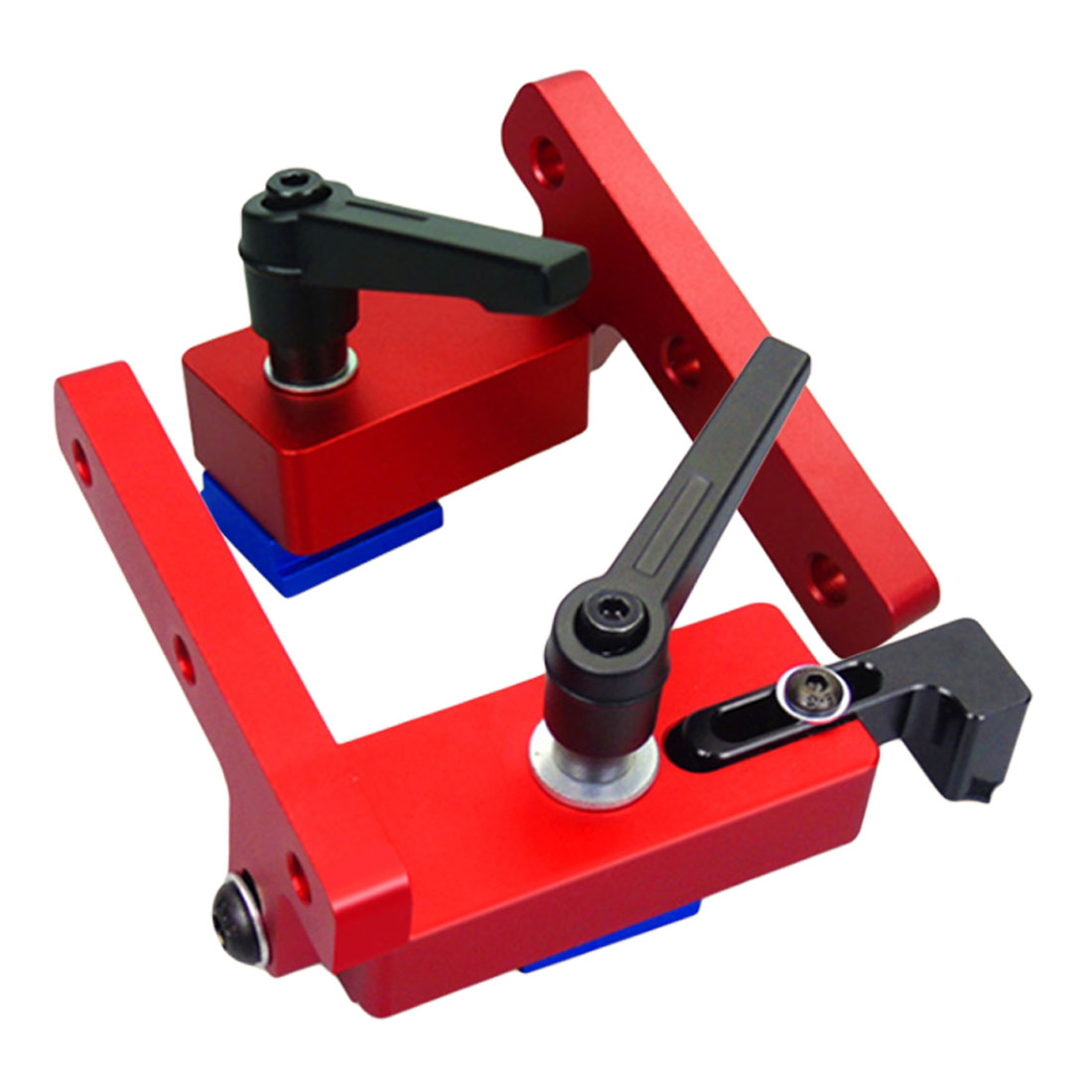 Flip Stop Aluminium T-Track Stop with Adjustable Scale <font><b>Mechanism</b></font> for 30mm 45mm T-track image