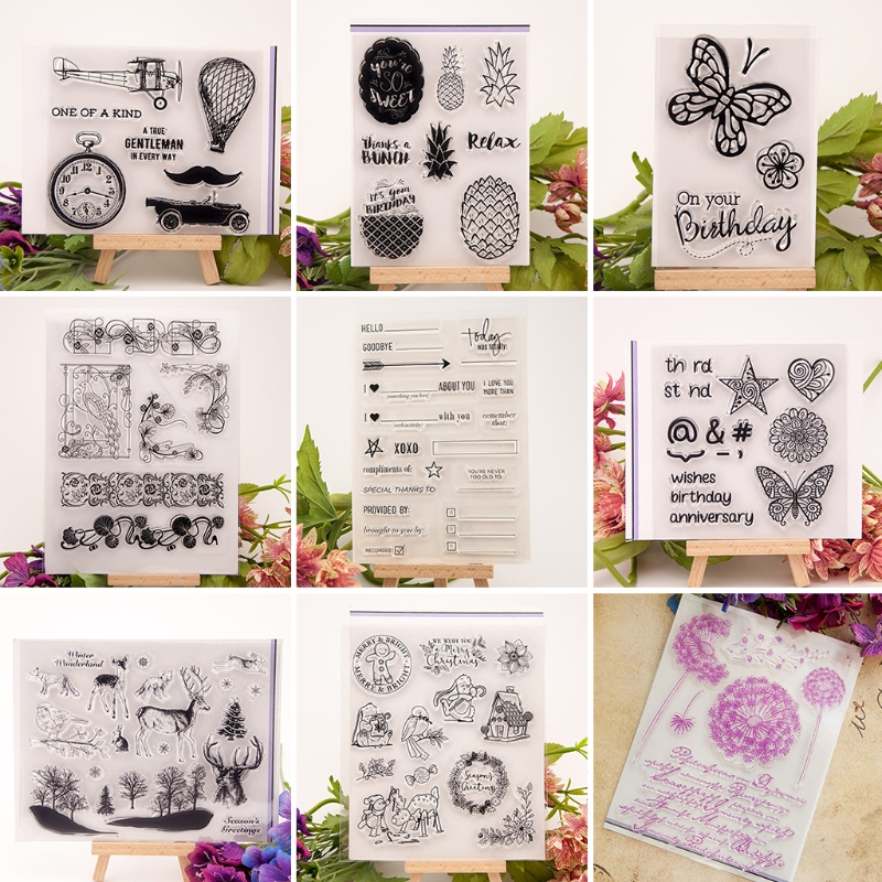Parts & Accessories Honest Bathing Girl Transparent Clear Silicone Stamps For Diy Scrapbooking/card Making/kids Fun Decoration Supplies44