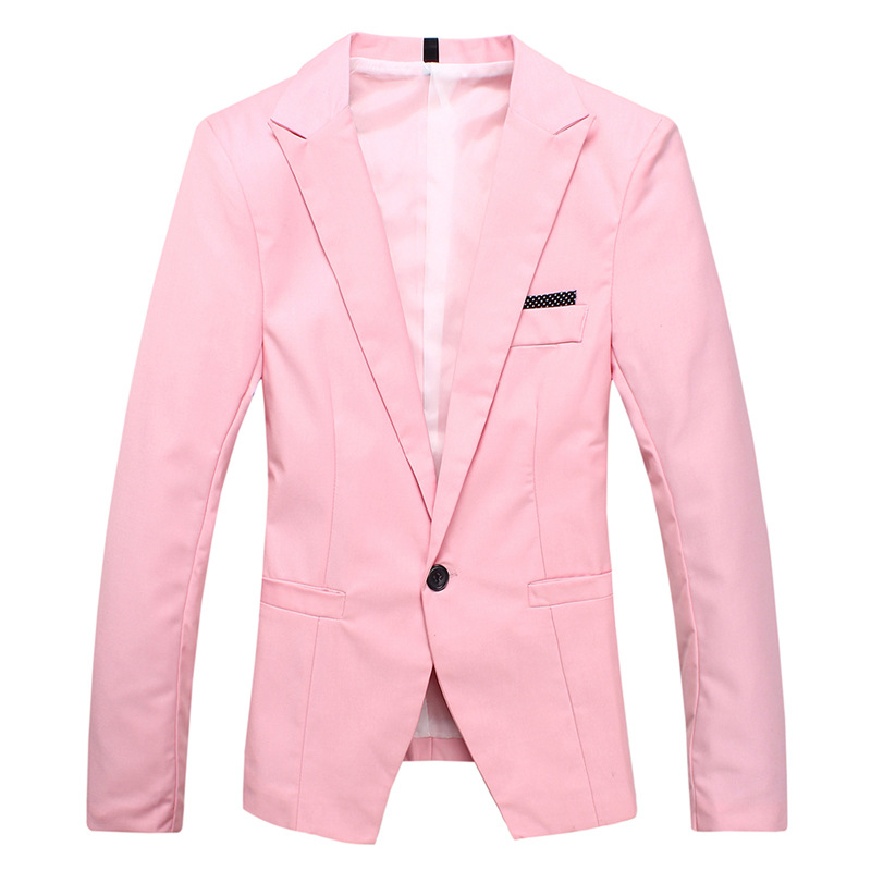 Online Get Cheap Mens Fashion Pink Blazer -Aliexpress.com ...