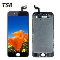 TS8 ЖК-дисплей для iPhone 6S ЖК-дисплей + кодирующий преобразователь сенсорного экрана в сборе запасные аксессуары для iPhone7 4 7