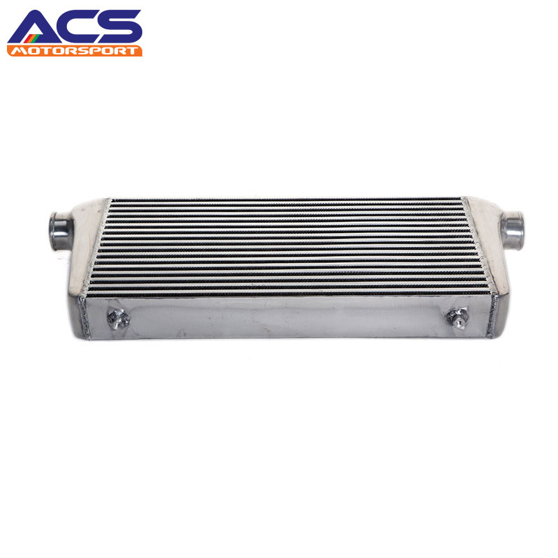 ACS-Core Size 24x12x3 Inch Universal Bar And Plate Aluminum Air To Air Intercooler 31x12x3 inch universal turbo fmic intercooler 3 inch piping kit toyota supra mkiii mk3 7mgte