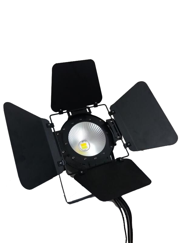 8X LO Stable Quality Factory Price 100W COB 2IN1 LED Par Light Aluminum Warmwhite/Coolwhite LED Par Can For DMX Stage Light show plaza light stage blinder auditoria light ww plus cw 2in1 cob lamp 200w spliced type for stage