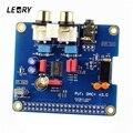 LEORY HIFI DAC цифровая аудио карта DAC к S/PDIF Pinboard для Raspberry Pi 3 Model B/2B/B +/A + цифро-аналоговый аудио конвертер