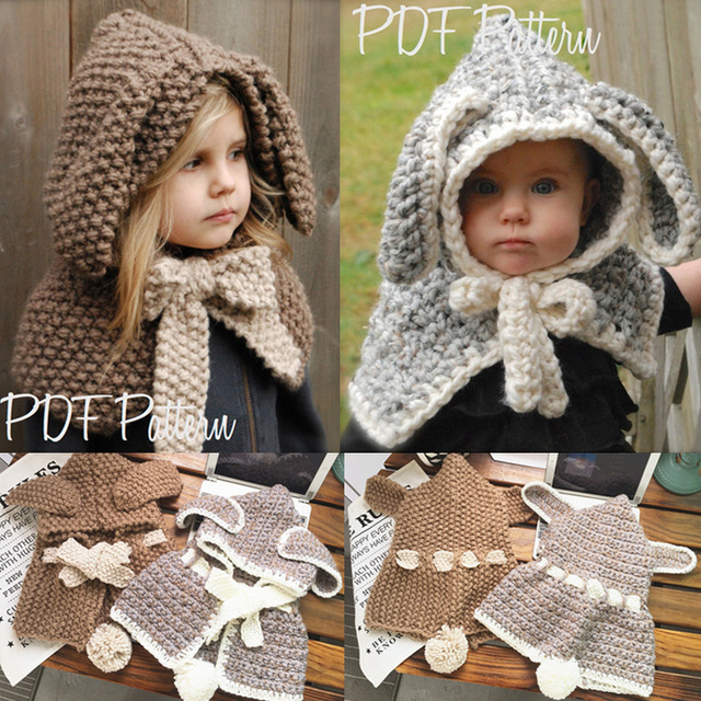 Inverno Bambino Cappelli E Berretti Dellorecchio Di Coniglio