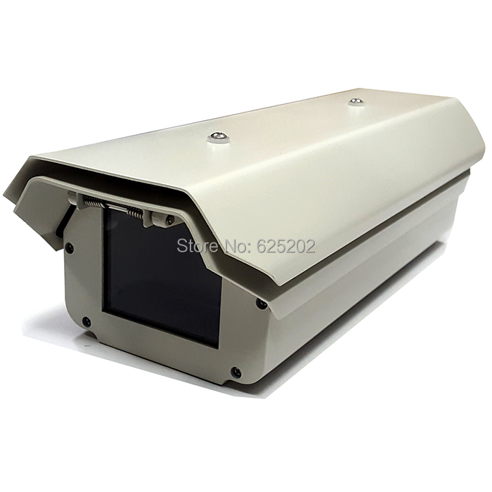 Weatherproof Double Layers CCTV Camera Housing with Fan and Heater