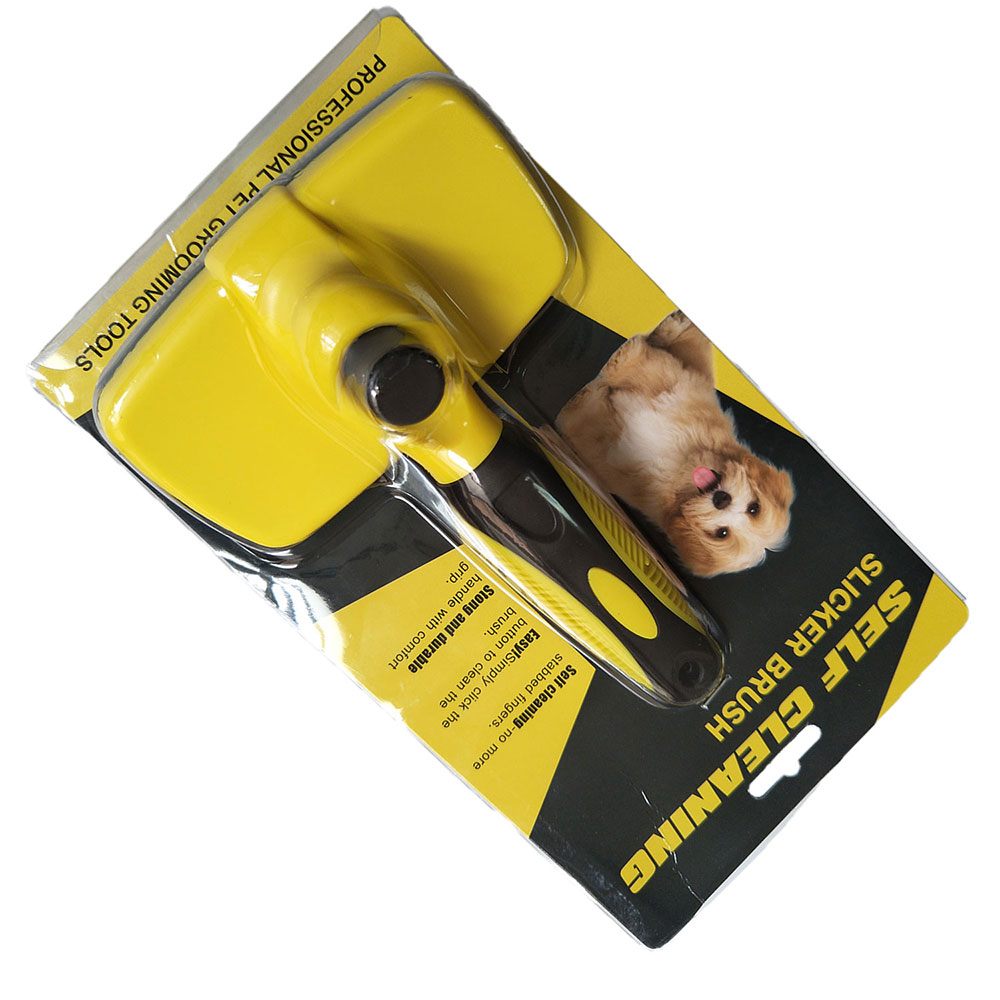 Grooming Brush Pet Deshedding Tool For Dogs Pets Slicker