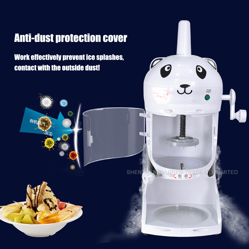 1pc high quality Automatic electric commercial lovely home large capacity ice machine ice maker 220V 350W 90kg/h