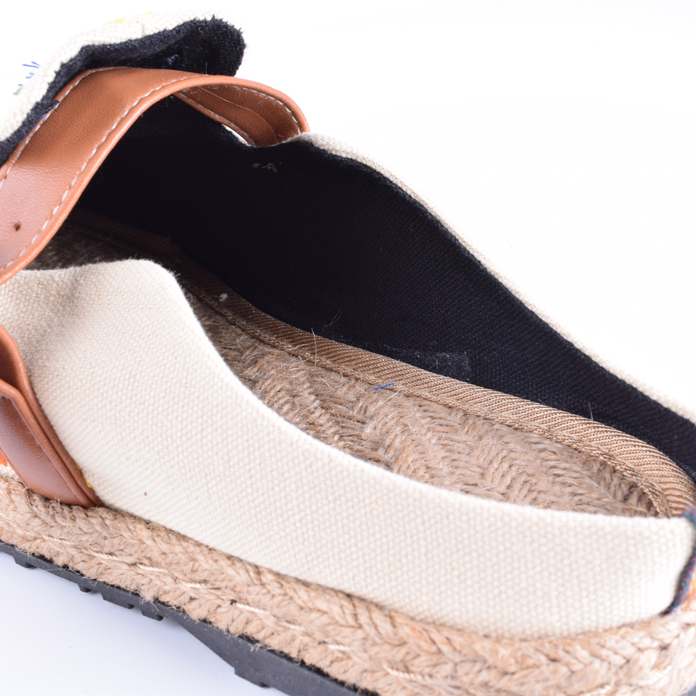 Mujeres de la vendimia Zapatillas de Lino Ocasional de Algodón - Zapatos de mujer - foto 3