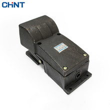CHINT Foot Switch Lathe Punch Machine Tool Pedal YBLT-YDT1-11 Pedal Switch Bring Protect Shield цена в Москве и Питере