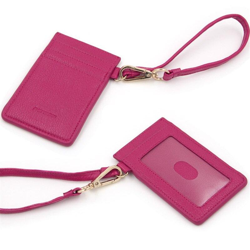 HNXZXB Mens PVC Carrying Card Case Mini Wallet Business Card Holder Bank cardholder pickup Multi-card-bit pack bag ID Pocket 9