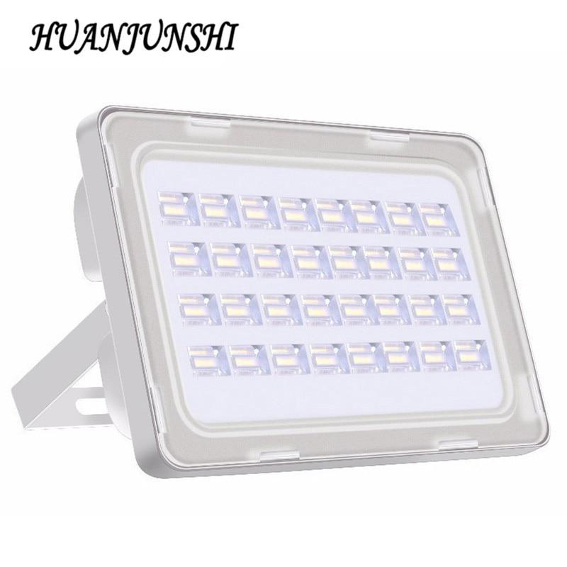 10 db 100w 220v-os új Led világítótestek kültéri 100 wattos LED-es lámpa 9000lm Tájkert Utcai fényszóró