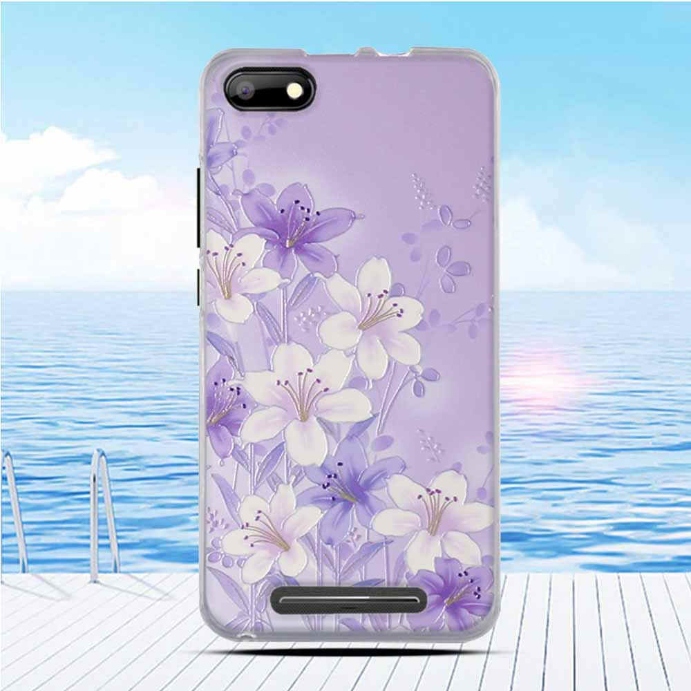Цветочный Рисунок Дизайн чехол для BQ BQS-5020 закругленный чехол мягкий силиконовый телефон задняя крышка для BQ 5020 BQS BQS5020 чехол