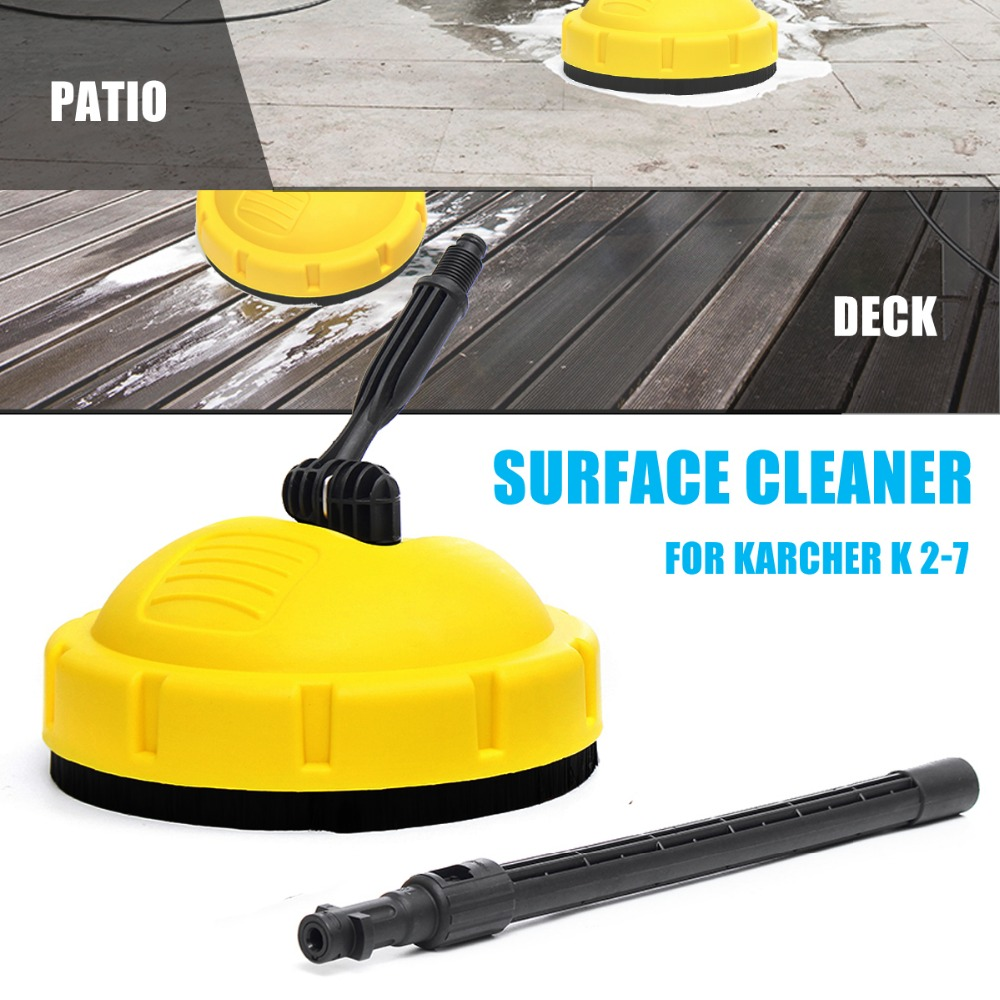 Pressure Washer Rotary Surface Patio Cleaner For KARCHER K Series K2 K3 K4 Cleaning Appliances