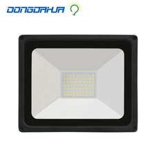 led outdoor projector 3500 k / 6500 k lamps camping hiking waterproof ip65 light security 4500lm 50 w lamp110v 220v floodlight