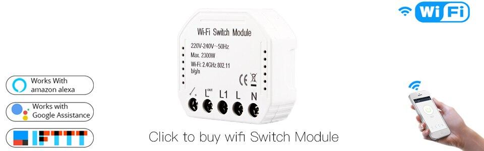 HOT SALE] 2 Gang WiFi Smart Light Switch Hidden Diy Module