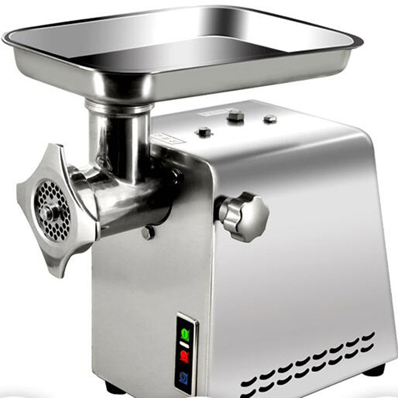 mangler electric meat grinder meat mincer mincing machine chopper Table type commercial sausage 1100W meat cutter vegetable 220V household electric meat grinder stainless steel meat mincer mincing machine meat cutter multifunction sausage thmgf500a
