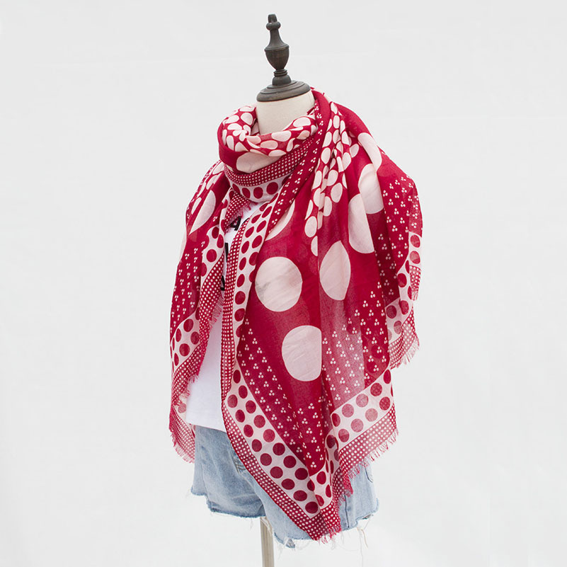 Women's Fashion Positioning Dots   Scarf     Wraps   Autumn Winter Long Shawl Pashmina 90*180cm