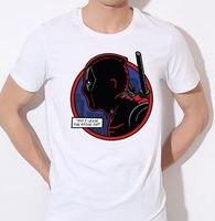 Забывчивым Дэдпул прохладный герой комиксов Фильм Смешной шутка Для мужчин футболка