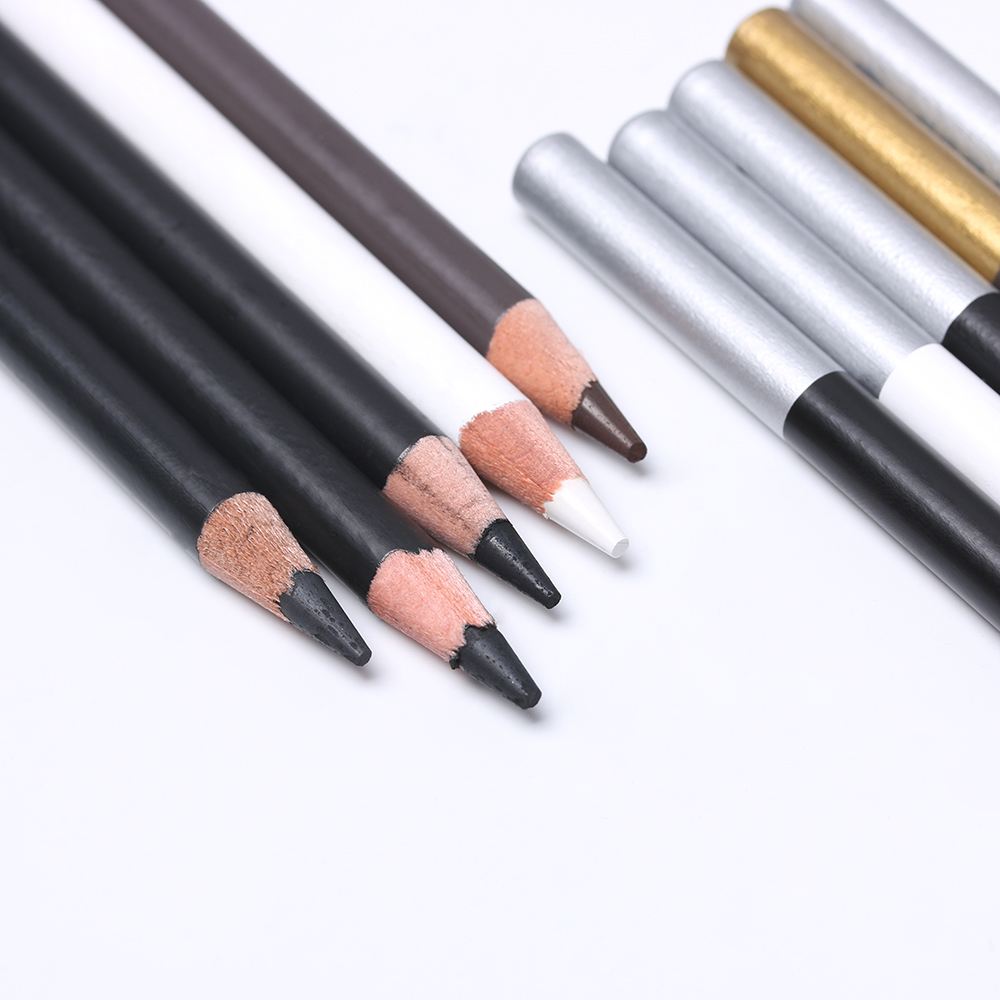 Us 0 85 34 off2pcs professional white highlight liner sketch art drawing pencil sketching pencils charcoal painting tool art marker manga in