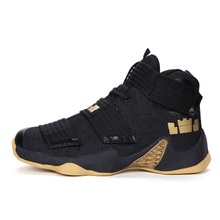 New Arrival Brand Boy Basketball Shoes Men Women Breathable Outdoor kids 11 Sneakers Children High Top Basket Homme