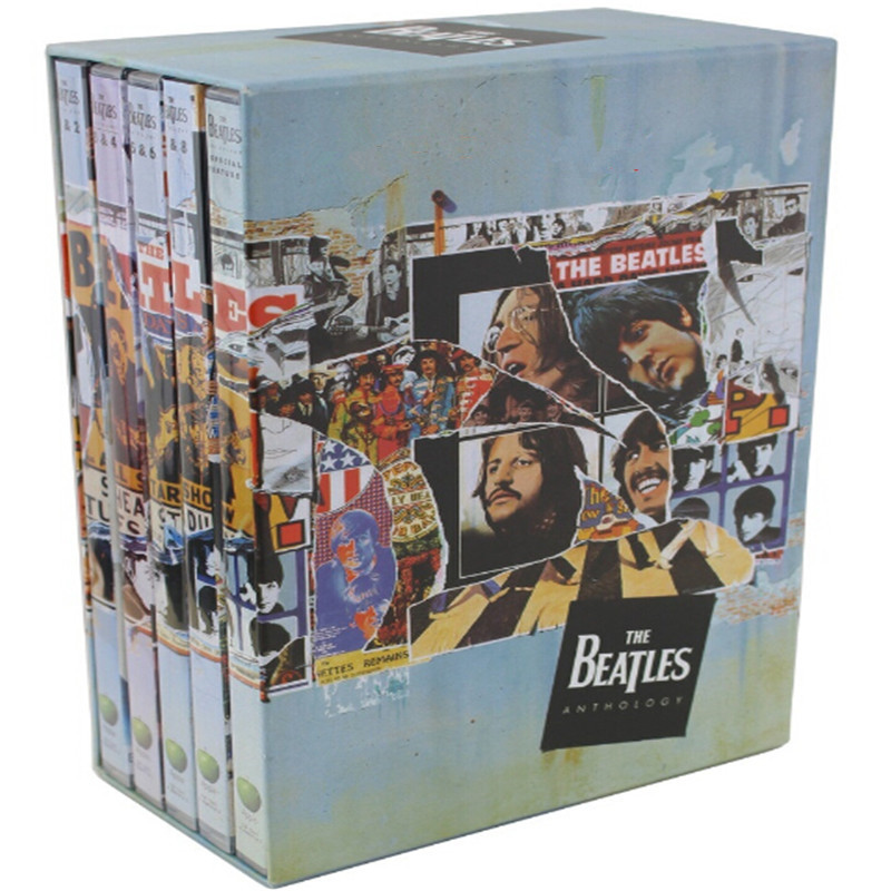 WS-01 New Seal: - Collection The Beatles Anthology 5 CD light disk [free shipping]