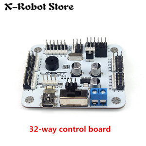 Image 3 - 6 24 32 Channel Robot Servo Motor Control Board & PS2 Controller + Receiver for Hexapod manipulator Mechanical Arm Bipedal Robot
