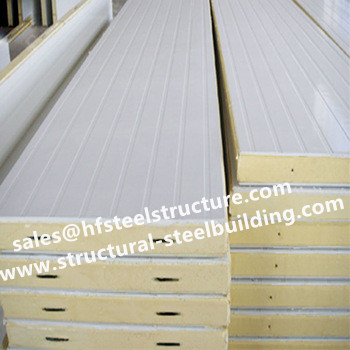 Cold And Freezer Room Manufacturers Supply Insulation Material For Cold Storage Pu Sandwich Panels