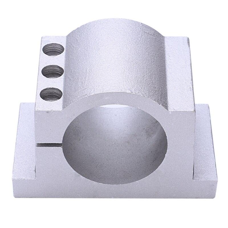 Engraving Machine Fixture 65Mm Cast Aluminum Fixture Spindle Motor Card Neck Holder Seat Engraving Machine Accessories
