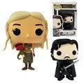 Funko POP Juego de Tronos Daenerys Targaryen Jon Nieve Vinilo Figura de Acción DEL PVC 10 cm Juguetes Modelo Colecciones Regalo para niños