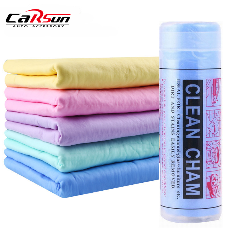 43*32cm PVA Chamois Car Wash Towel Cleaner car Accessories Car care Home Cleaning Hair Drying Cloth-in Sponges, Cloths & Brushes from Automobiles & Motorcycles