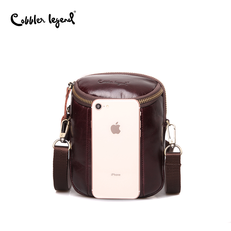 Cobbler Legend Men Vintage Genuine Leather Shoulder Bag Men's Shoulder Bag