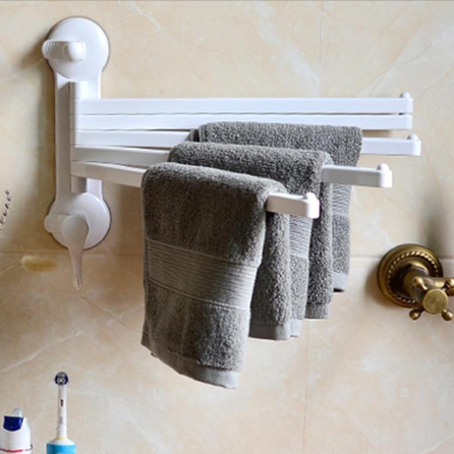 OUNEED Towel Bar Rotating Bathroom Towel Rack